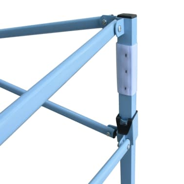 vidaXL Faltzelt Pop-Up mit 4 Seitenteilen 3 x 4,5 m Blau[6/11]