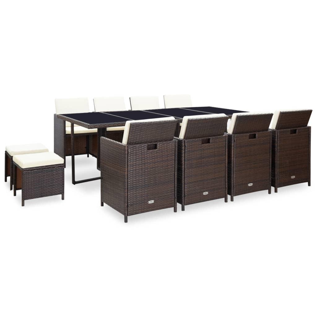 vidaxl-33-piece-outdoor-dining-set-brown-poly-rattan