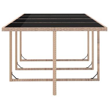 vidaxl 37 teilige garten essgruppe poly rattan grau beige zum schn ppchenpreis. Black Bedroom Furniture Sets. Home Design Ideas