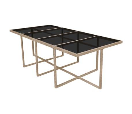 Acheter vidaxl mobilier d 39 ext rieur 33 pcs gris beige for Mobilier exterieur resine