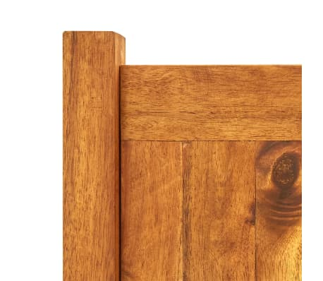 vidaxl garten bertopf akazienholz 100 x 30 x 25 cm g nstig kaufen. Black Bedroom Furniture Sets. Home Design Ideas