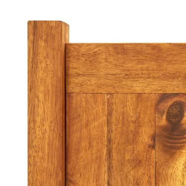 vidaXL Plantenbak 100x30x25 cm acaciahout[4/5]