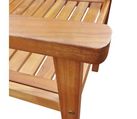 Vidaxl sillas de jard n 2 unidades madera maciza acacia - Sillas madera jardin ...