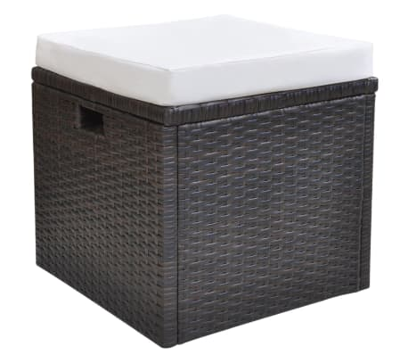 vidaxl garten essgruppe 18 tlg poly rattan braun g nstig kaufen. Black Bedroom Furniture Sets. Home Design Ideas