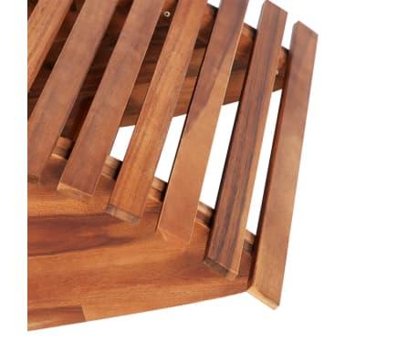 vidaXL Balansoar șezlong din lemn de acacia[3/4]