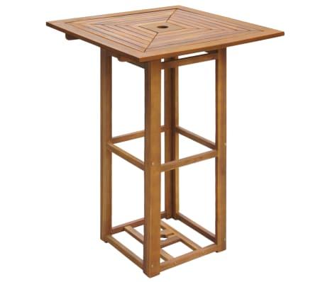 vidaXL 3 Piece Bistro Set Solid Acacia Wood[2/7]
