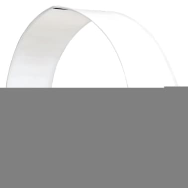vidaXL Sun Lounger with Canopy Poly Rattan Brown[2/6]