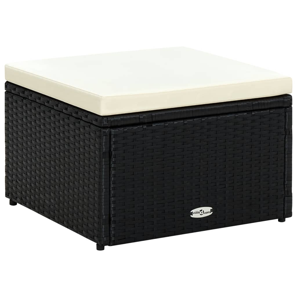 vidaxl-footstool-ottoman-poly-rattan-53x53x30-cm-black