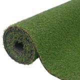 vidaXL Dirbtinė žolė, 1,5x5 m/20-25 mm, žalia