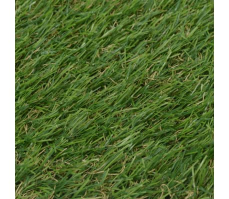 vidaXL Dirbtinė žolė, 1,5x5 m/20-25 mm, žalia[3/3]