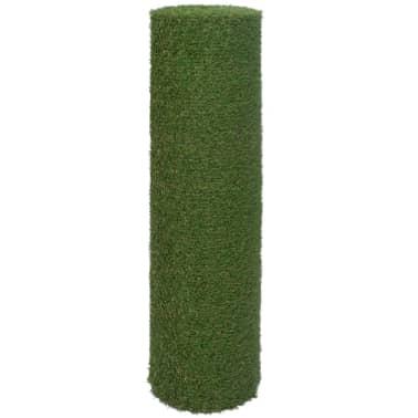 vidaXL Dirbtinė žolė, 1,5x5 m/20-25 mm, žalia[2/3]