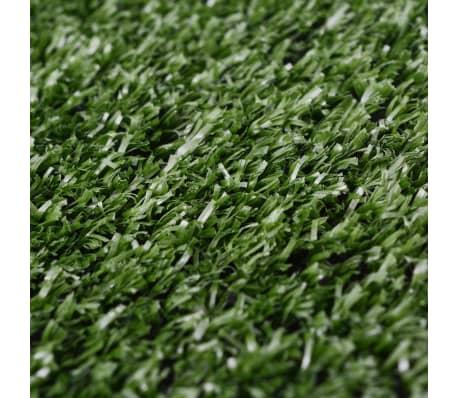 vidaXL Dirbtinė žolė, 1x25 m/7-9 mm, žalia[3/3]