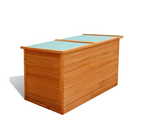 vidaXL Garden Storage Box Wood[1/7]