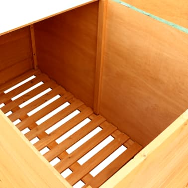 vidaXL Garden Storage Box Wood[5/7]