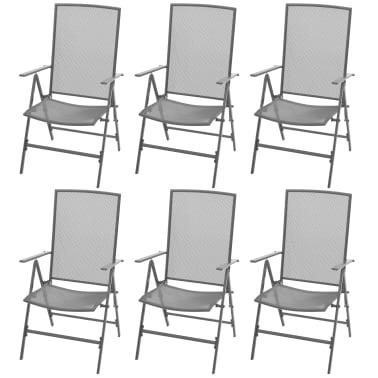 Meble Ogrodowe Zestaw Składany Krzesła I Stół 8718475503248