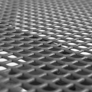 vidaXL Mesa de jardín de malla de acero 90x90x72 cm [2/3]