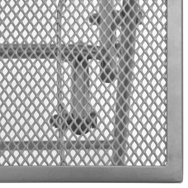 vidaXL Solsenger 2 stk med bord stål antrasitt[11/13]