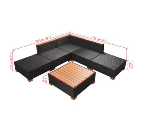 5e991af74b85 vidaXL 15-dielna záhradná sedacia súprava