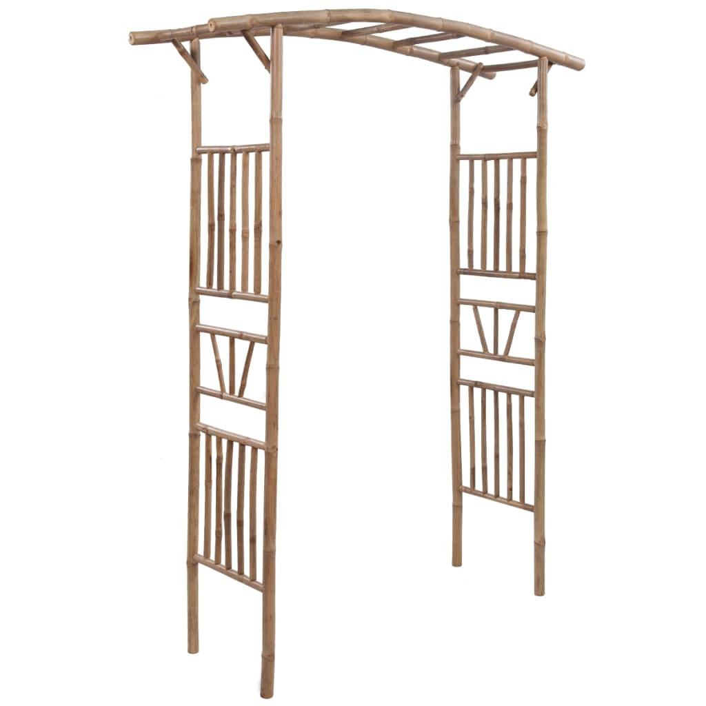 Afbeelding van vidaXL Rozenboog bamboe 145x40x187 cm