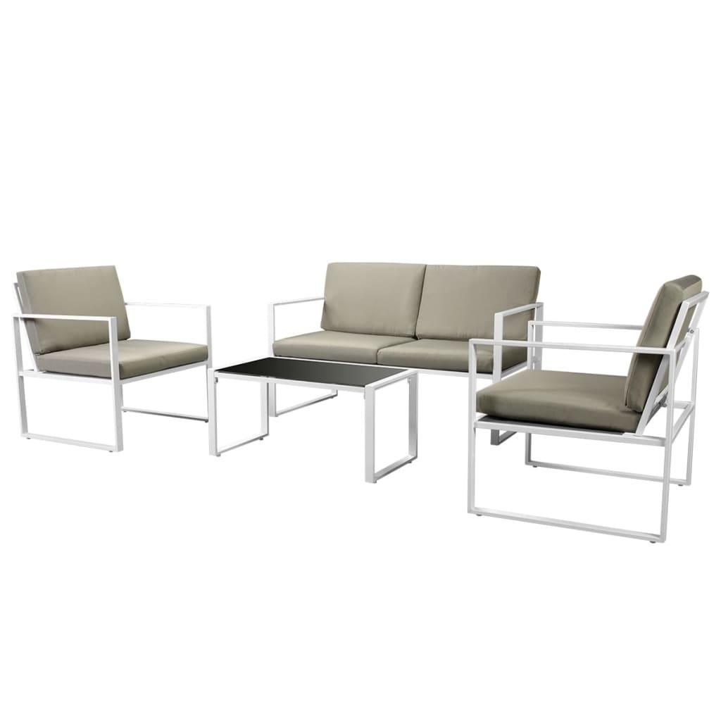 Diese Gartensofa-Garnitur kombiniert Stil, Design und Funktionalität. Sie wird das absolute Highlight in Ihrem Gartens oder auf Ihrer Terasse sein!