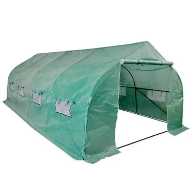 vidaXL Invernadero tienda portátil estructura de acero 18 m²[1/5]