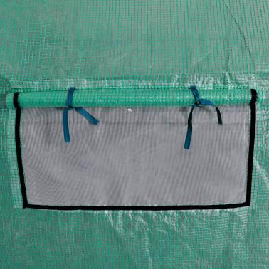 vidaXL Invernadero tienda portátil estructura de acero 18 m²[4/5]
