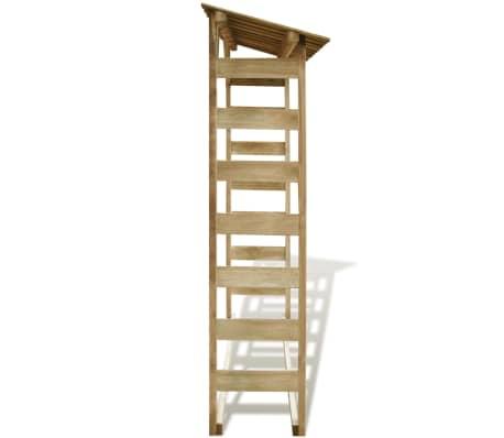vidaXL Abri de stockage du bois 150x44x176 cm Pin imprégné FSC[3/5]