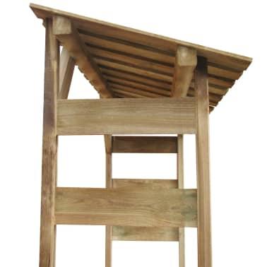 vidaXL Abri de stockage du bois 150x44x176 cm Pin imprégné FSC[4/5]