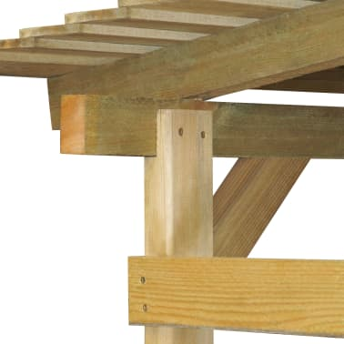 vidaXL Overkapping 170x200x200 cm FSC geïmpregneerd grenenhout[2/3]
