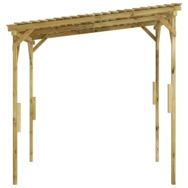 vidaXL Overkapping 170x200x200 cm FSC geïmpregneerd grenenhout[3/3]
