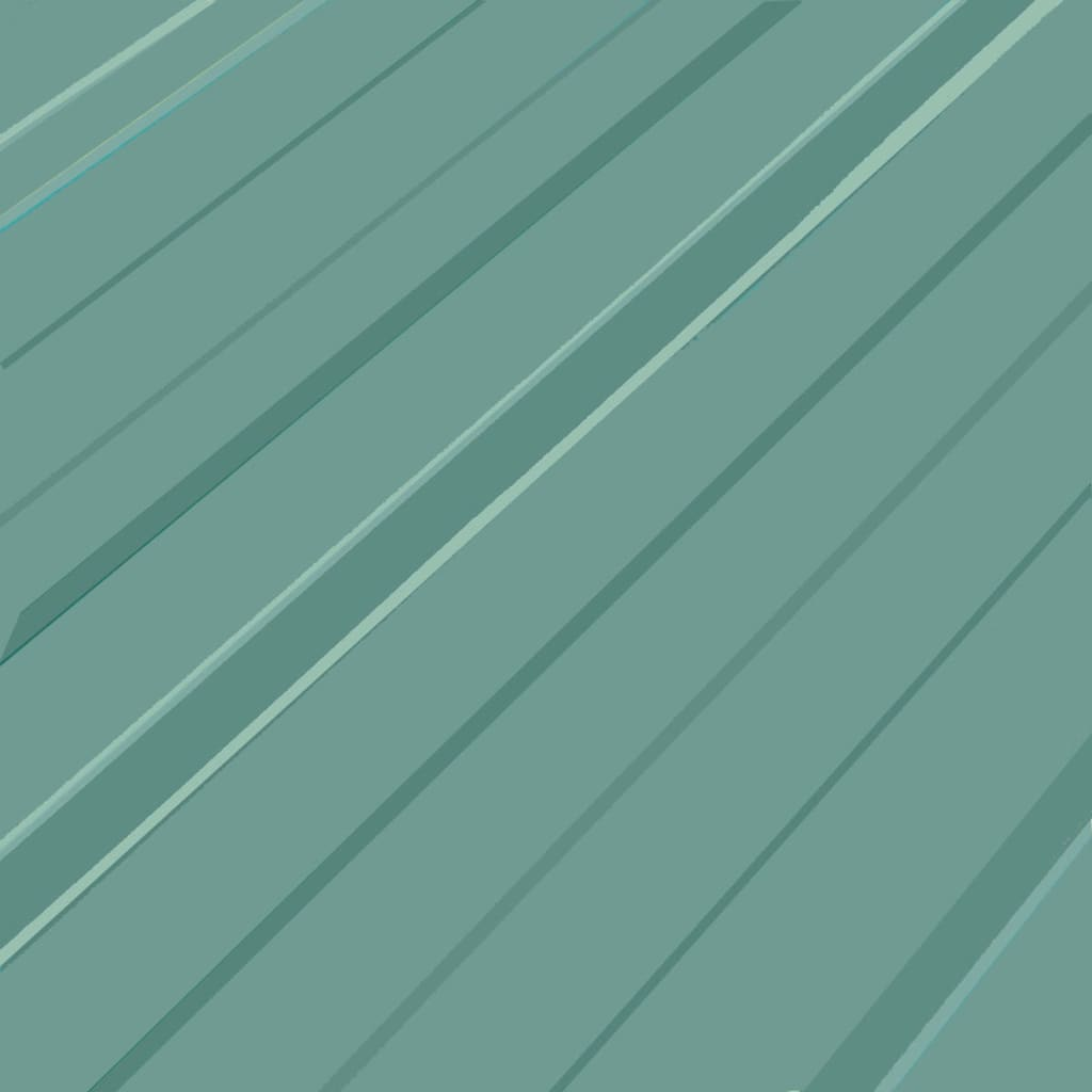 vidaXL Dakpanelen gegalvaniseerd staal groen 12st
