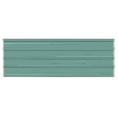 vidaXL Takpanel 12 st galvaniserat stål grön[2/4]
