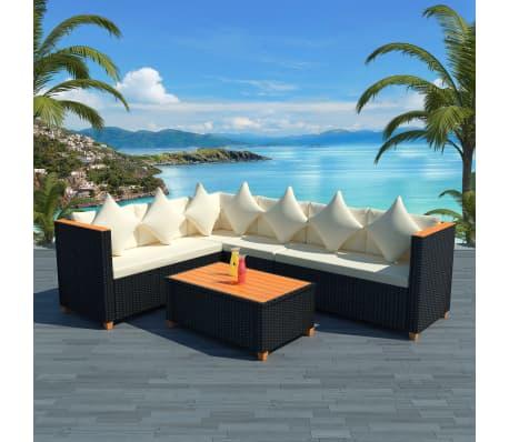 acheter vidaxl mobilier de jardin 21 pcs r sine tress e. Black Bedroom Furniture Sets. Home Design Ideas