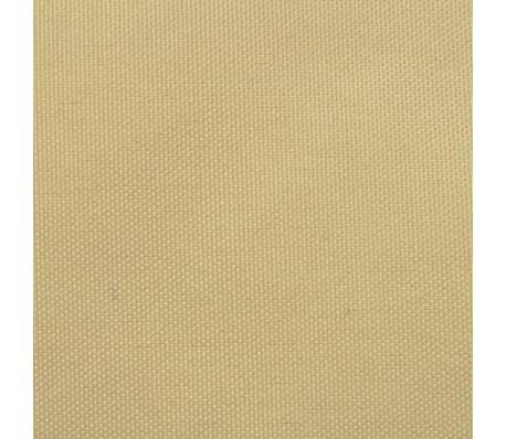 vidaXL Senčno jadro oksford tekstil kvadratno 2x2 m bež barve[2/4]