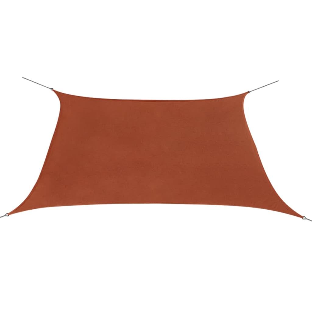 vidaXL Πανί Σκίασης Τετράγωνο Τερακότα 2 x 2 μ. από Ύφασμα Oxford