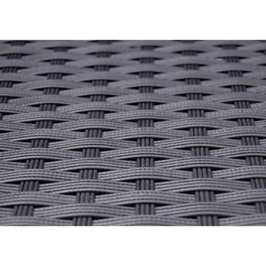 vidaxl garten essgruppe 9 tlg poly rattan schwarz g nstig kaufen. Black Bedroom Furniture Sets. Home Design Ideas