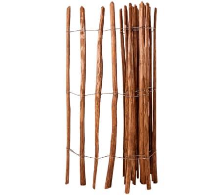 vidaXL Drvena ograda drvo lijeske 150 x 250 cm