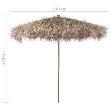 vidaxl bambus sonnenschirm mit bananenblatt dach 210 cm g nstig kaufen. Black Bedroom Furniture Sets. Home Design Ideas