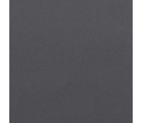 vidaXL Almofadões para cadeiras de jardim 2 pcs antracite 120x50x3cm[8/9]