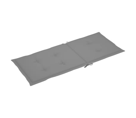 "vidaXL Garden Chair Cushions 4 pcs Gray 47.2""x19.7""x1.18""[5/9]"