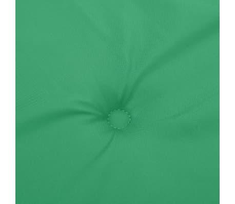 vidaXL Perne scaun de grădină, 4 buc, verde, 120x50x3 cm[7/9]