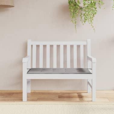 vidaxl gartenbank auflage grau 100 50 3 cm g nstig kaufen. Black Bedroom Furniture Sets. Home Design Ideas