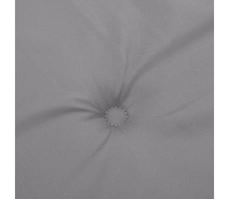 vidaxl gartenbank auflage grau 120 50 3 cm g nstig kaufen. Black Bedroom Furniture Sets. Home Design Ideas