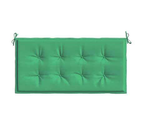 vidaxl gartenbank auflage gr n 120 x 50 x 3 cm g nstig kaufen. Black Bedroom Furniture Sets. Home Design Ideas