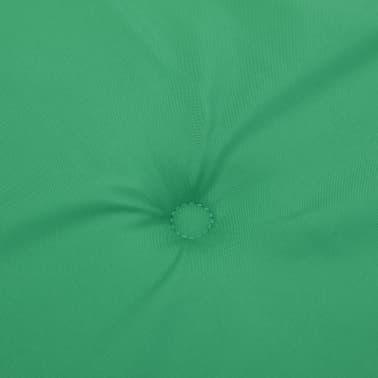 vidaXL Pernă pentru bancă de grădină, verde 120x50x3 cm[5/6]