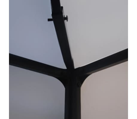 vidaXL Lysthus hvit 3x4 m[3/5]