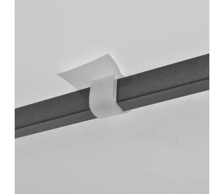 vidaXL Tuinpaviljoen 3x3 m wit[6/7]