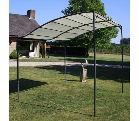 Gazebo Fabric Cream White Outdoor Garden Canopy Shelter Tent Carport 3 x 2.5 m