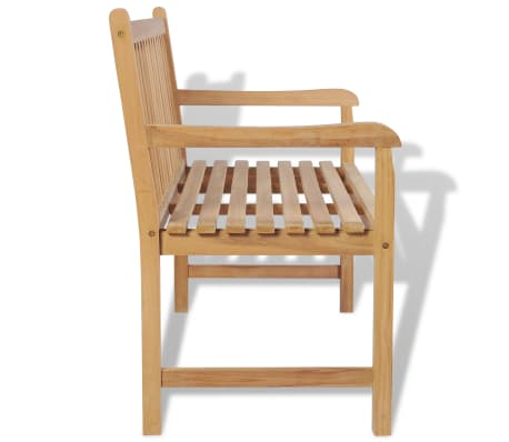 "vidaXL Outdoor Bench Teak 47.2""x24.6""x35.4""[3/6]"