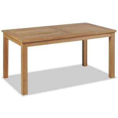 vidaXL Kavos staliukas, tikmedis, 90x50x45cm[1/6]